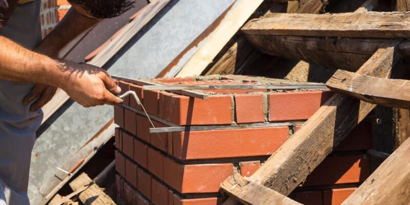 Restoring chimney